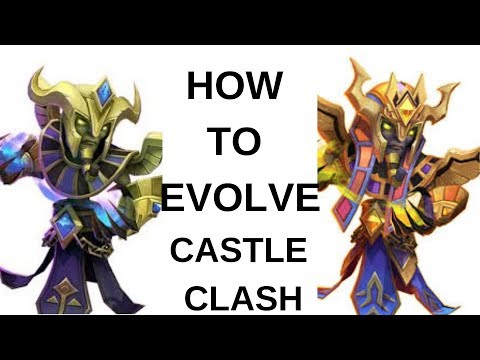 Castle Clash | Educational | How To Evolve | Double Evolve | Heroes
