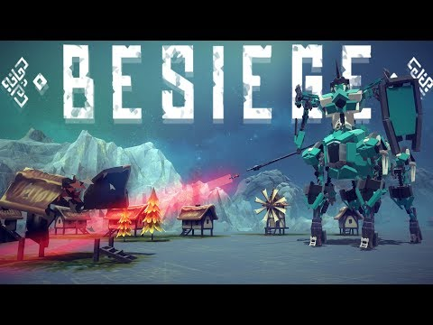 Besiege Best Creations - The Mighty Centaur!, Pickle Rick, Tank Jeep & More! - Besiege Gameplay