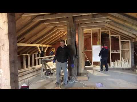 attic loft conversion , part 2