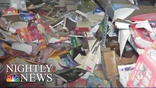 Hurricane Harvey  Mayor Orders Mandatory Evacuation of West Houston Homes   NBC Nightly News