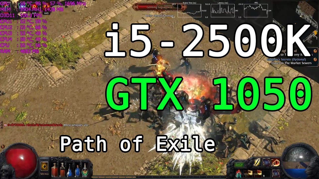 Path of exile 20 fps