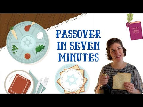 Passover In Seven Minutes With Mayim Bialik And Friends!