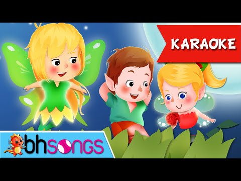 Here We Go Round The Mulberry Bush Karaoke song lyrics | Nursery Rhymes | Ultra HD 4k Music Video