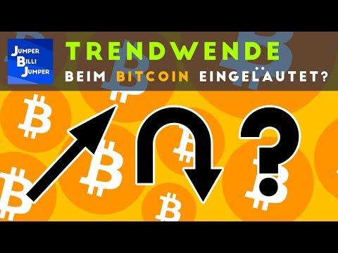 Ist die Trendwende beim Bitcoin eingeläutet?