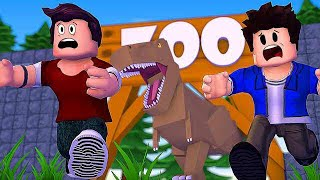 ROBLOX-DINOSAUR WANTS TO CATCH ME (Dinosaur Hunter)
