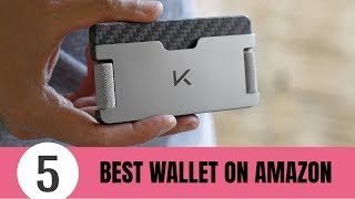 5 Best WALLET On Amazon 2019 - Best Minimalist Wallet And Card Holder