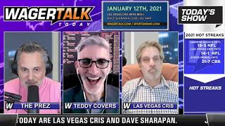 Daily Free Sports Picks | NFL Division Round Previews on WagerTalk Today | Jan 12