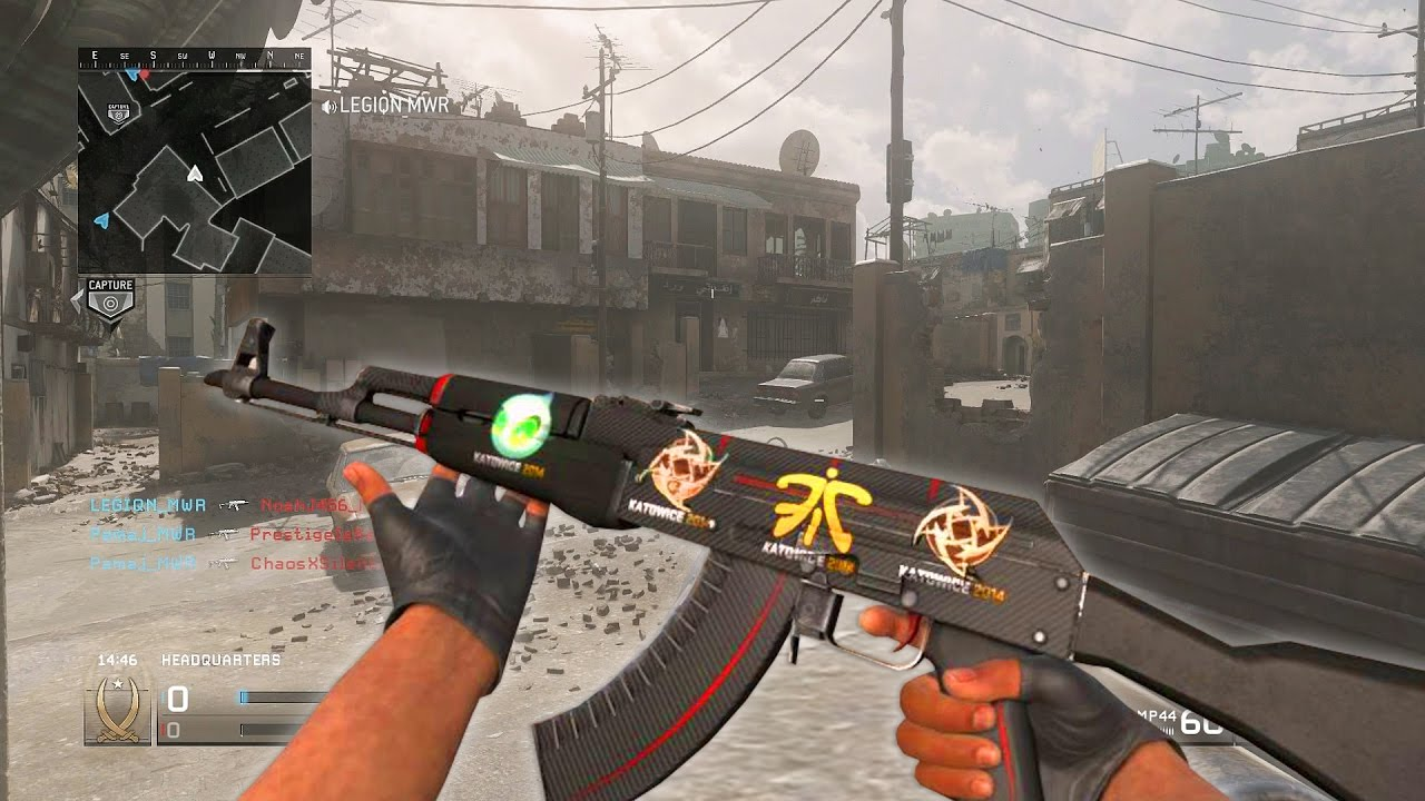 Weapon Stickers Coming To Modern Warfare Remastered Like Csgo Youtube