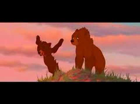 Brother Bear (Frere des ours) On my way(french) Je m'en vais poster