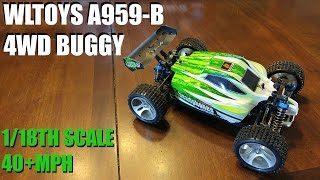 wLTOYS A959-B 4WD Buggy, Review & Test Drive