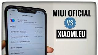 Diferencias entre MIUI Stock Vs Xiaomi EU | La MEJOR ROM MIUI para mi