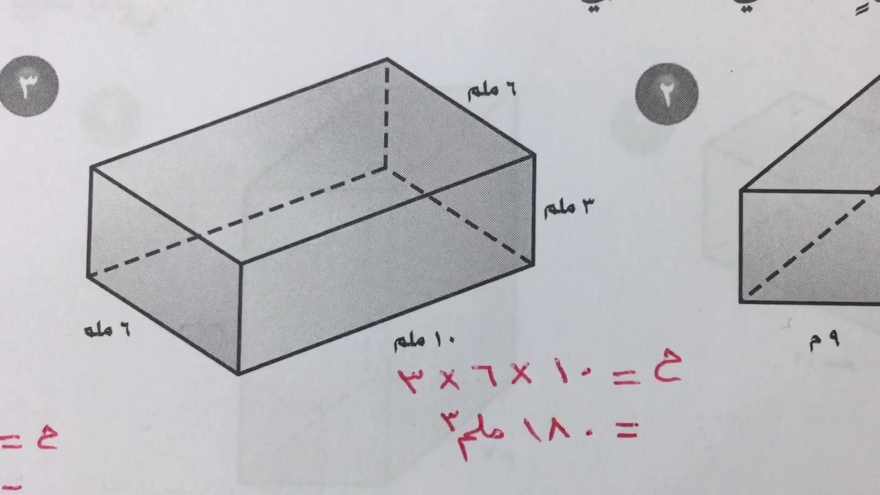 حل كتاب التمارين رياضيات خامس الفصل الثاني