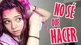 ME TRATÉ DE PINTAR EL CABELLO DE ROSA - Valeria Saavedra