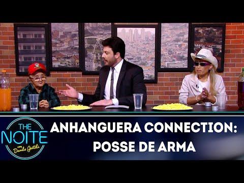 Anhanguera Connection: Posse de Arma | The Noite (02/04/19)