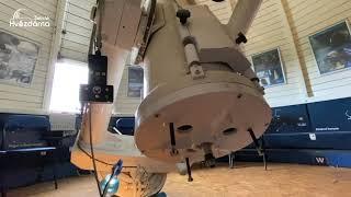 O hlavním dalekohledu hvězdárny