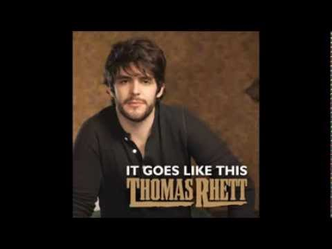 It Goes Like This- Thomas Rhett (Lyrics)