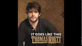 It Goes Like This- Thomas Rhett (Lyrics)