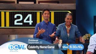 celebrity name game is coming to dcw television