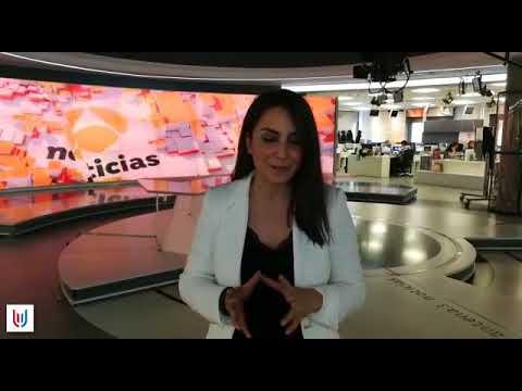Nuestra egresada Paz Bailón nos saluda desde Antena 3 Noticias