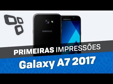 Galaxy A7 2017 - Primeiras Impressões - TecMundo