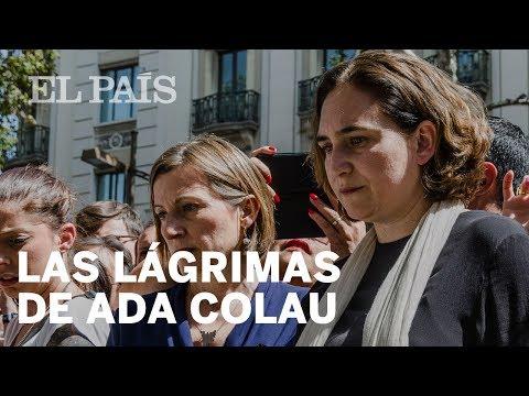 Homenajes Barcelona: Del 'No tinc por' a las lágrimas de Colau | España
