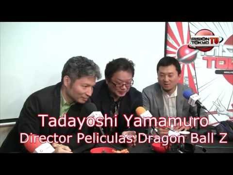 "Entrevista - Director ""Dragon Ball Z"" Tadayoshi Yamamuro"
