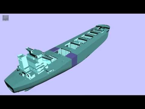 hull, Odin (3D , tribon 3d , offshore , plant , shipbuilding , design review)