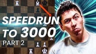 GM Eric Hansen Blitz Speedrun to 3000 | 1500-1800