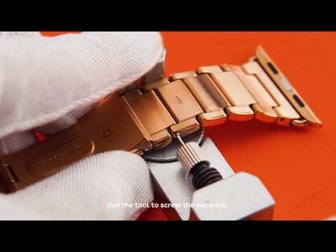 How To Remove Watch Links (with Subtitles) - CASETiFY Apple Watch Bands