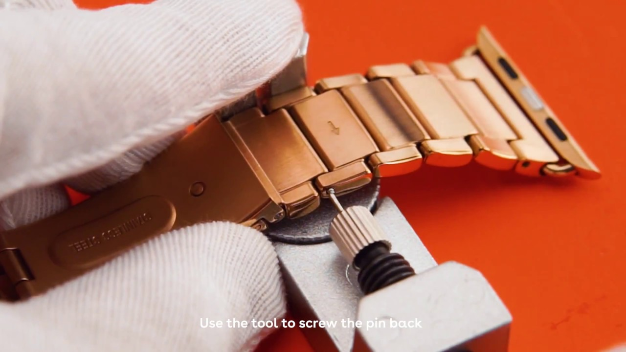 2513621565a73 How To Remove Watch Links (with Subtitles) - CASETiFY Apple Watch Bands
