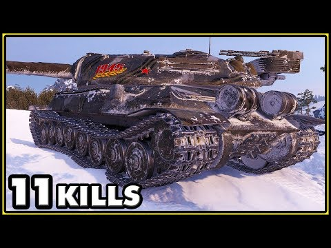 Object 705A - 11 Kills - World of Tanks Gameplay thumbnail