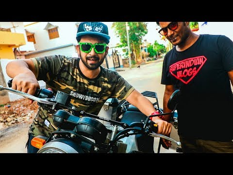 FIRST IN INDIA TO GET THE ROYAL ENFIELD HIMALAYAN MODIFICATION KIT !