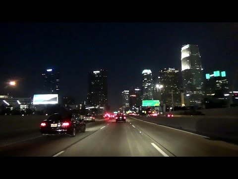 CA-60 West: Pomona Freeway, In N Out of Downtown Los Angeles