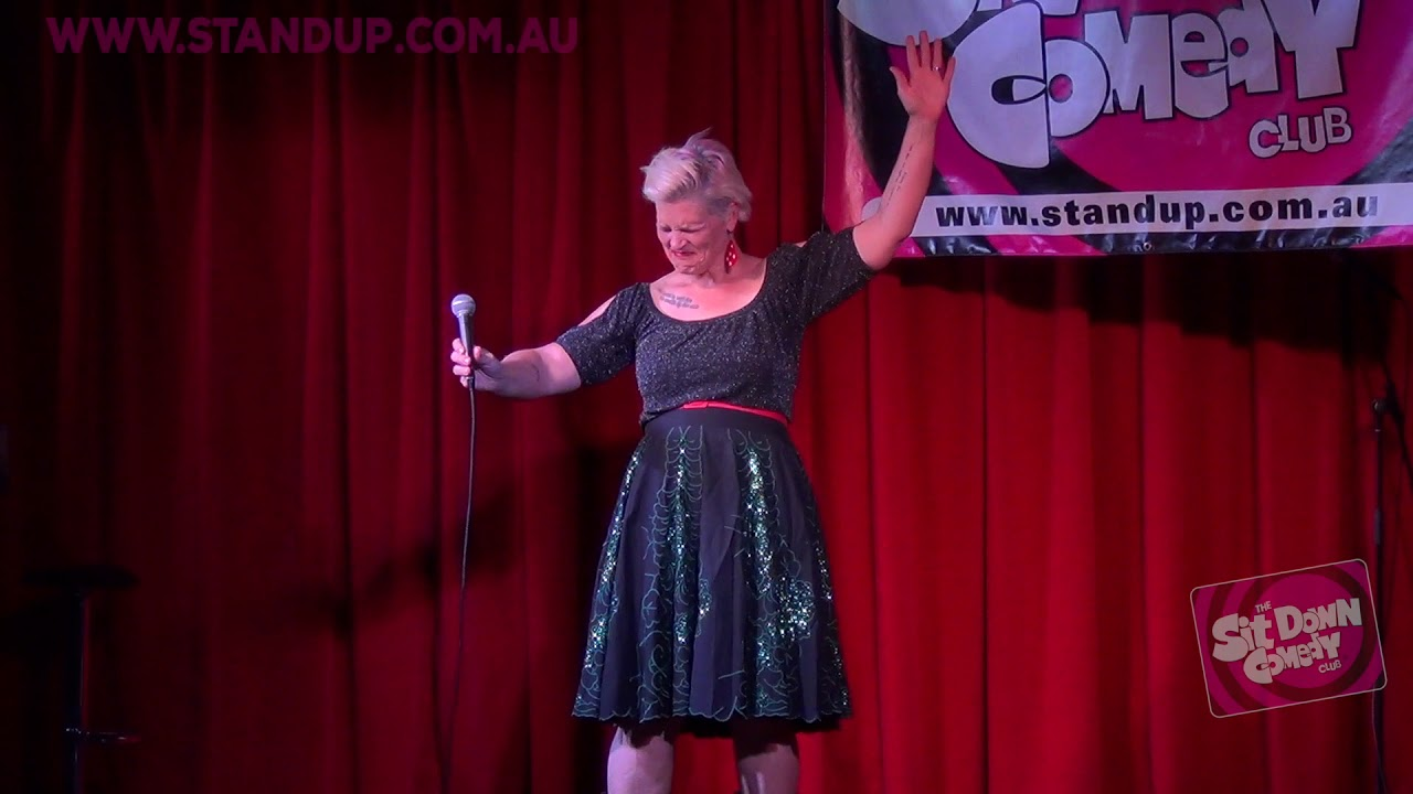 Jenny Wynter @ The Sit Down Comedy Club - Impro Song
