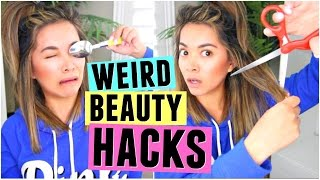 6 WEIRD BEAUTY HACKS That Actually Work!