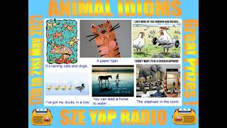 Publication Date: 2021-05-17   Video Title: Radio Show 9 - Animal Idioms