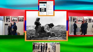 Большой скандал в Тегеране ... , на фотовыставке в посольстве Баку  ... .