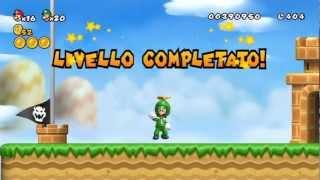 New Super Mario Bros Wii - 100% Walkthrough Co-op ITA - Parte 02 di 19