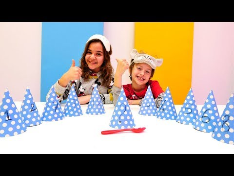 Sema ve Arseny yemek tahmin etme challenge