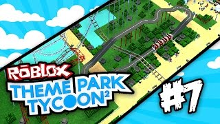 Theme Park Tycoon 2 #7 - BEST KID RIDE EVER (Roblox Theme Park Tycoon 2)