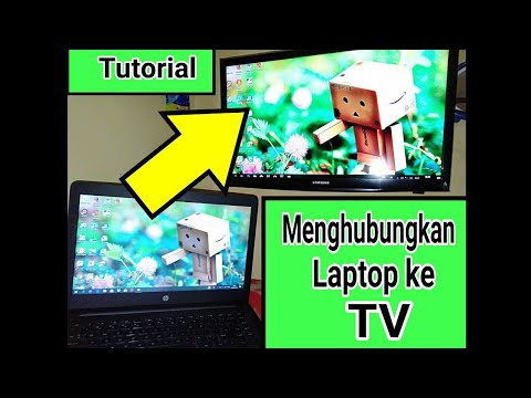 Cara Menghubungkan Laptop Ke TV Dengan Anycast HDMI Dongle
