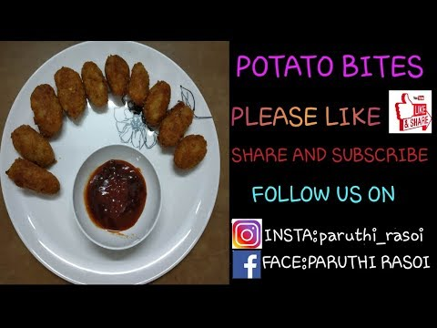 Garlic Potato Bites