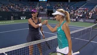 Daria Gavrilova tops Radwanska for place in Connecticut Open Final thumbnail