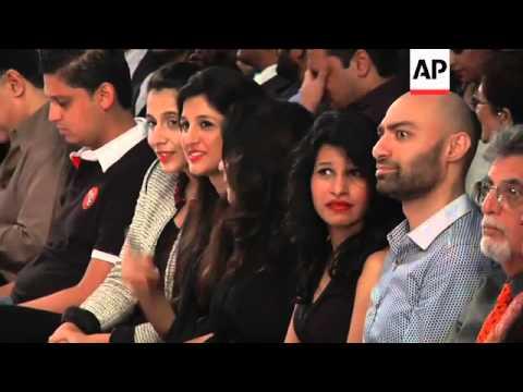 Designers Huma Adnan and Maheen Karim present their collections at Fashion Pakistan Week