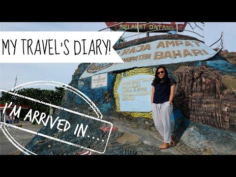 MY TRAVEL'S DIARY: FLY TO SORONG AND SAILING TO RAJA AMPAT!