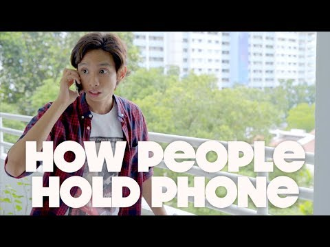 How People Hold Phone