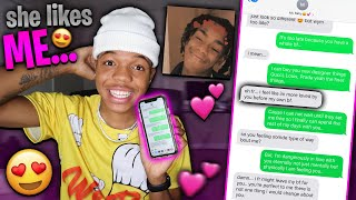 Song lyric prank on CRUSH *Gone Right* NEW GF...