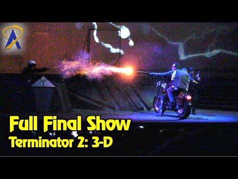 Final Terminator 2: 3-D showing at Universal Studios Florida