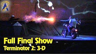 Final Terminator 2: 3-D showing at Universal Studios Florida
