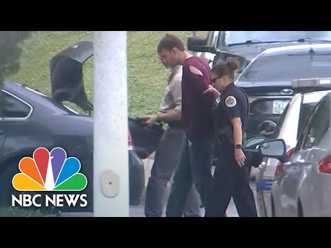 Police Arrested Waffle House Shooting Suspect In The Woods | NBC News